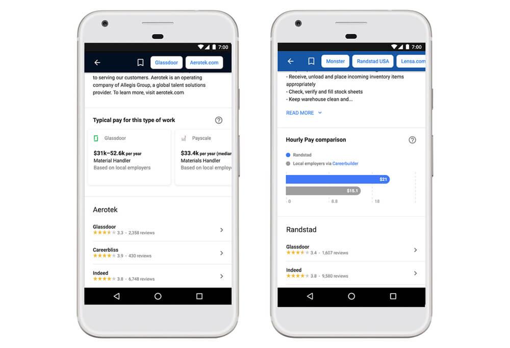 Google for Jobs Perkenalkan Fitur Gaji dan Lokasi