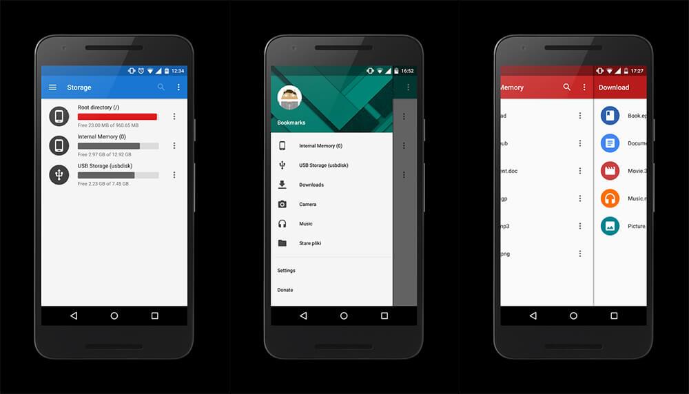 Aplikasi File Manager Terbaik di Android: MK File Explorer