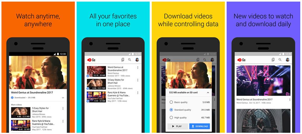 YouTube Go Kini Tersedia di 130 Negara