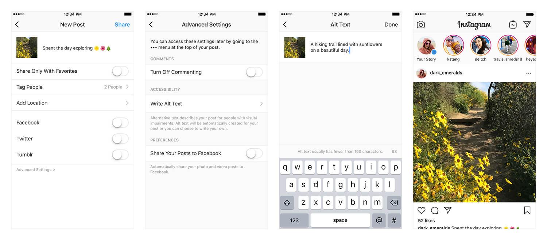 Instagram Luncurkan Fitur Teks Alternatif