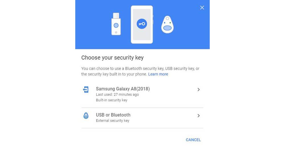 Google Menjadikan Ponsel Android sebagai Kunci Keamanan