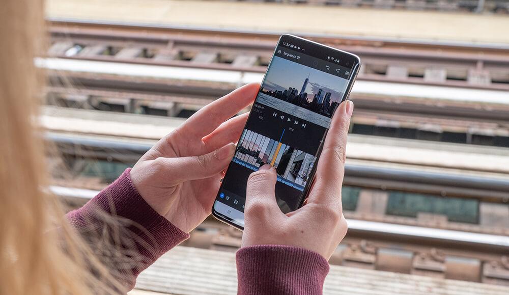 Adobe Premiere Rush Meluncur untuk Android