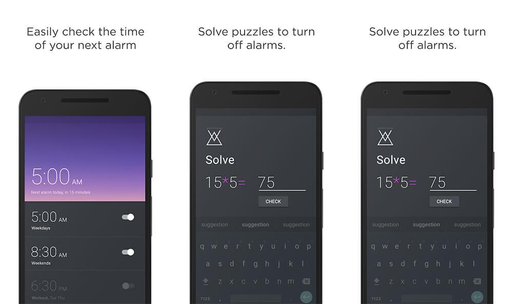 Aplikasi Alarm Terbaik di Android: Alarm Clock Puzzle