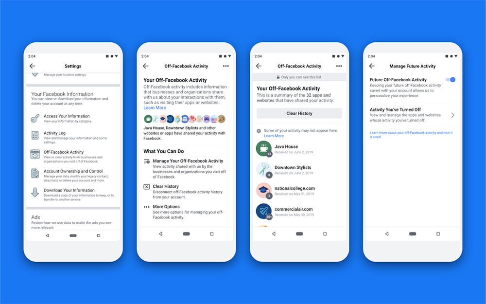Facebook Luncurkan Alat Pengontrol Data 'Off-Facebook Activity'
