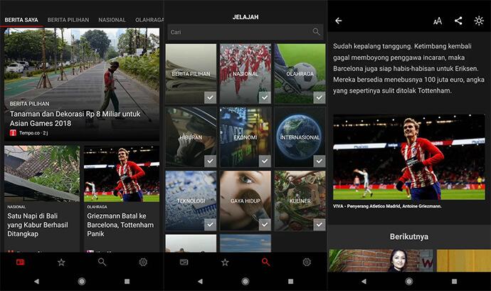 Aplikasi Berita Terbaik Android