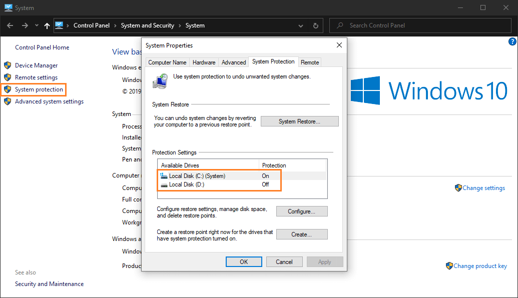 Cara Membuat 'System Restore Point' pada Windows 10