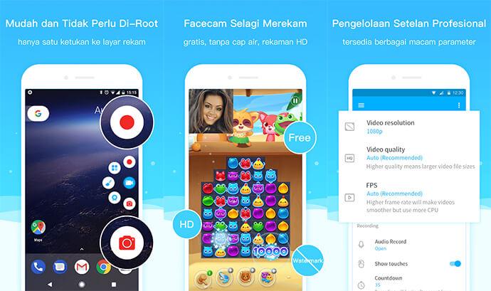 Aplikasi Perekam Layar Terbaik untuk Android