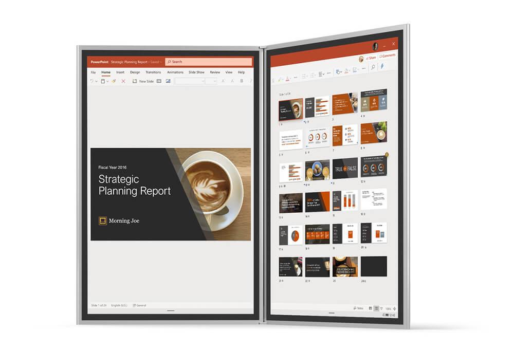 Microsoft Hadirkan Windows 10X untuk Perangkat Berlayar Tunggal