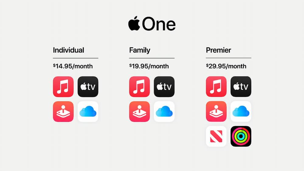 Apple Hadirkan Paket Berlangganan 'Apple One'