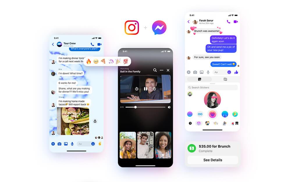 Facebook Perbarui Logo dan Antarmuka Messenger